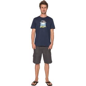 Elkline Methusalem - T-shirt manches courtes Homme - bleu
